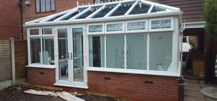 Double Hipped Glass Edwardian Conservatory
