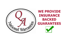 qa logo - jmart windows doors & conservatories telford - www.jmartwindows.co.uk