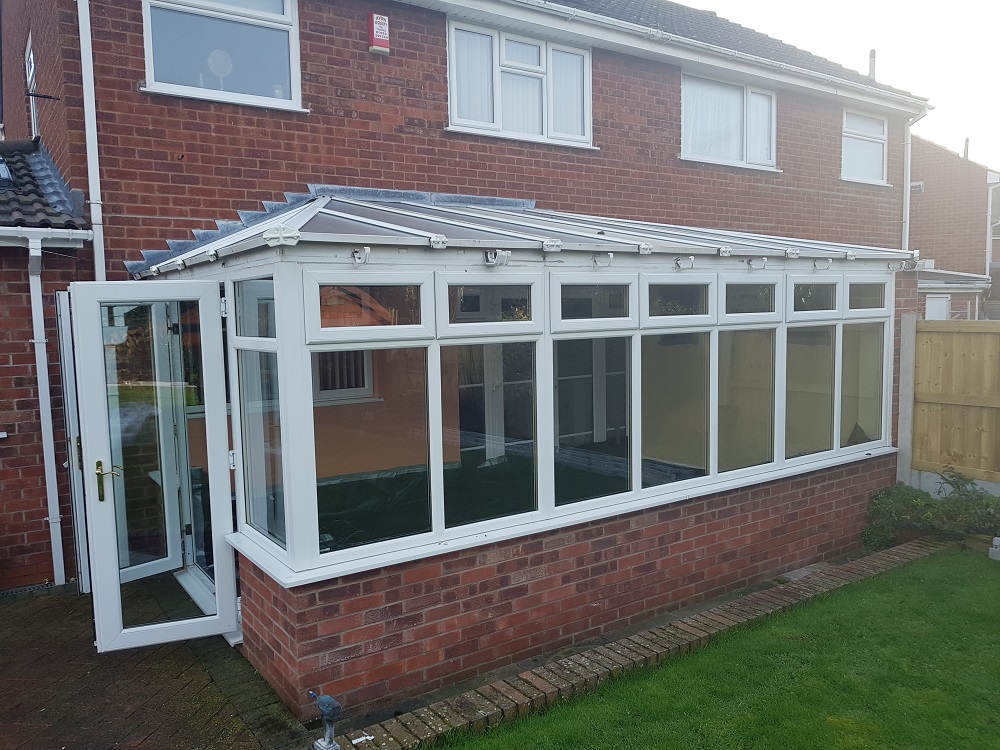Conservatory Roof Before - Admaston Telford