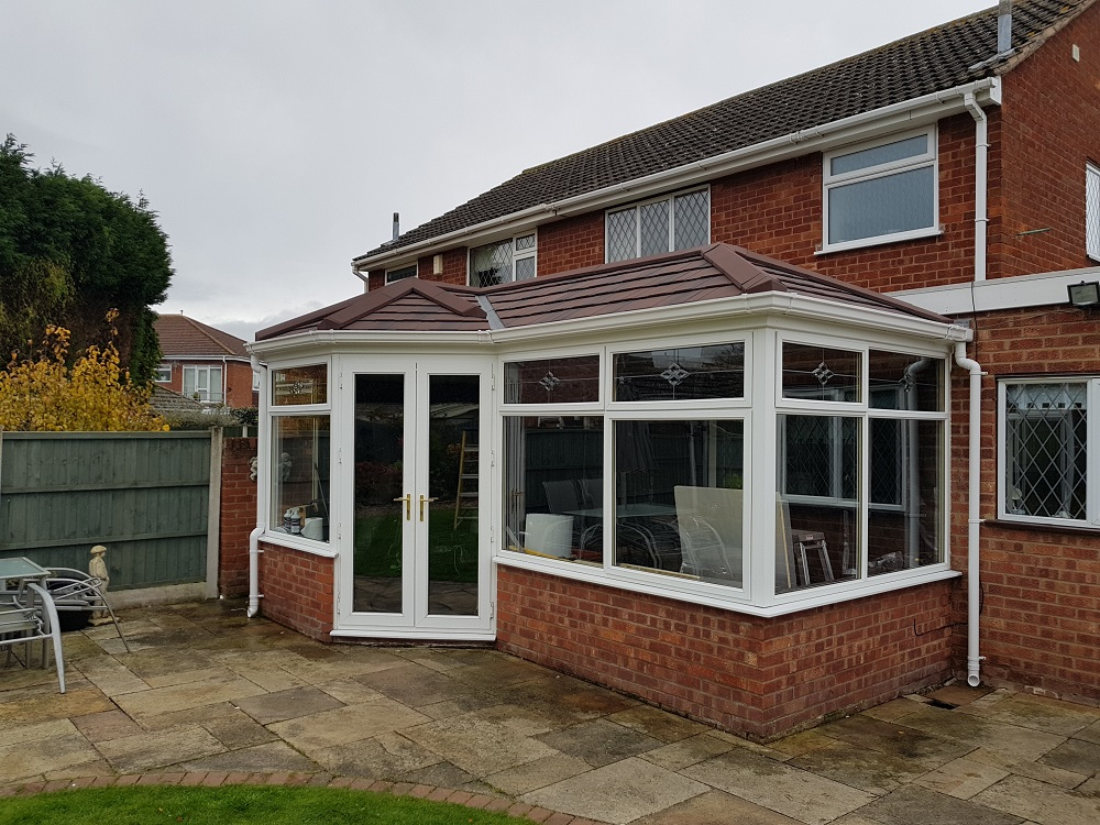 replaced Tiled Conservatory Roof