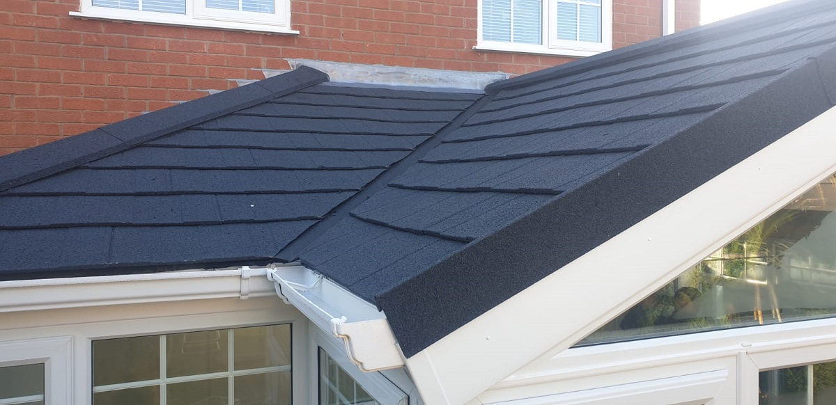 Close Up Gable Ended Conservatory Roof