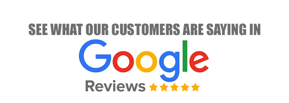 5 * google reviews