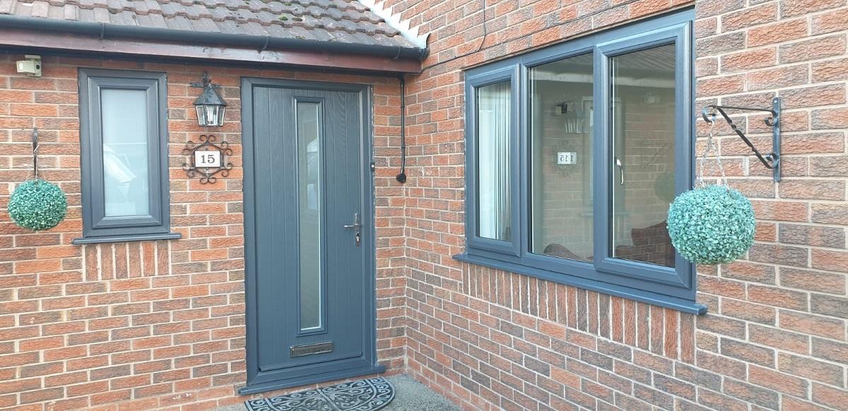 Replacement Windows and Composite Door