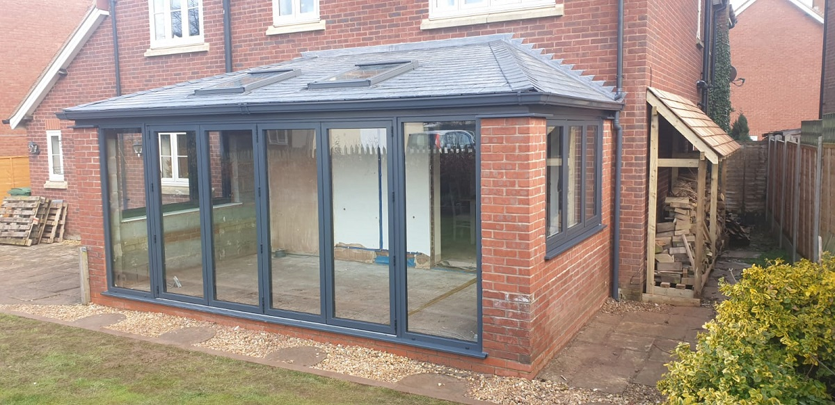 Replacement Visofold bi-folding doors